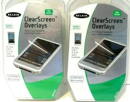 Belkin ClearScreen Overlays Screen Protectors Sony Clie Compatibles 24 Sheets! - $4.78