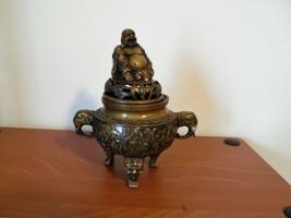 Chinese Bronze Tripod Censer - $193.05