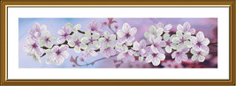 Cross Stitch Hand Embroidery Kit Blooming Spring - $24.41