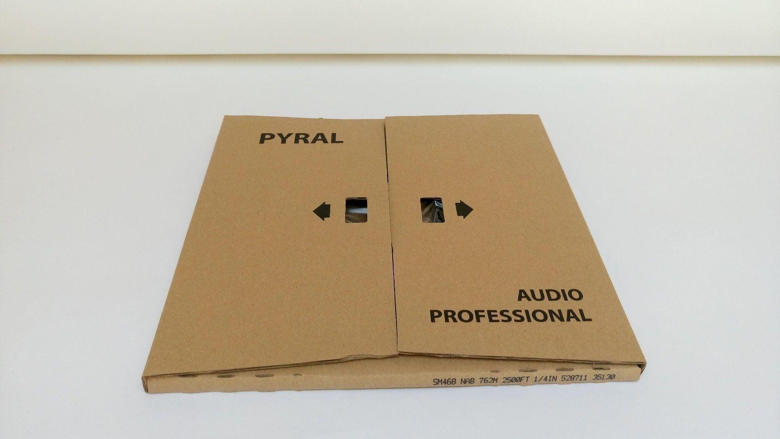 "RTM SM468 AGFA PEM468 Reel Master Tape 1/4"" 3280ft 1000m PANCAKE Authorised Dlr"