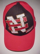Northern Edge Hockey New Era 39Thirty Adult Red Black Unisex Cap Hat M/L... - $31.18