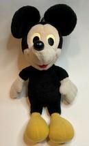 Mickey Mouse Disney Hasbro Softies Vintage Stuffed Plush Doll Toy Yellow... - $56.10
