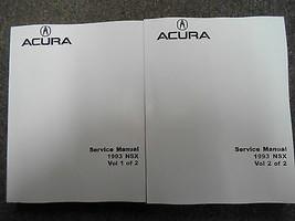 1993 Acura NSX Service Shop Repair Workshop Manual Set Factory Dealership  - $127.71