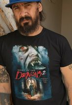 Night of the Demons 2 Tee Shirt retro vintage 90s horror movie graphic t-shirt image 3