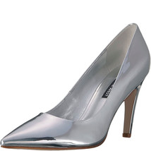Nine West Quintrell Pumps Synthetic SIlver 7.5M - $69.99