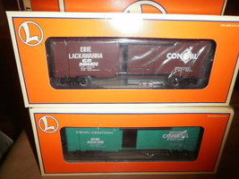 LIONEL CLOSEOUTS 21756  6464 OVERSTAMP BOXCAR SET- W11 - $73.45
