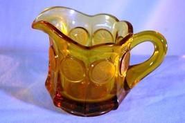 Fostoria Coin Glass Amber Creamer  1372 - $4.72