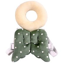 Baby's Dot Wings Baby's Head Protection Pad Headrest Angel Hat image 2