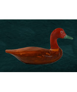 Beautiful Vintage Hand Carved Duck - $28.00