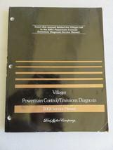 2001 Mercury Villager Powertrain Emission Service Manual OEM Factory Wor... - $2.48