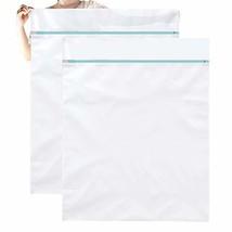 OTraki Mesh Laundry Bag Large 2 Pack 43 x 35inch Jumbo Delicates Wash Ba... - $16.26