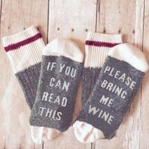 If You Can Read This Wine Socks - $9.99