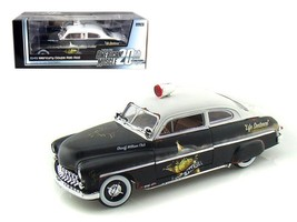 1949 Mercury Coupe Rat Rod Police 20th Ann of American Muscle 1:18 - $117.13