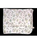 Carters Baby Swaddle Blanket Pink Yellow Blue Flower Floral Print Butterfly - $24.74