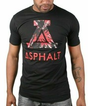 Asphalt Yacht Club Black Mens Trip Icon Medium Large T-Shirt ASP15SS109