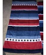 2 Stars & Stripes Beach Bath Towel New w/o Tags 28 X 52 - $26.99