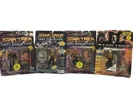 Playmates Star Trek Deep Space Nine Lot Action Figures #6201 6203 6244 6921 90s - $27.22
