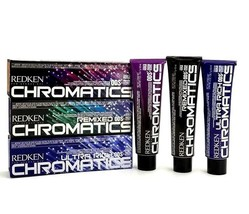 Redken CHROMATICS Prismatic PERMANENT Color Cream 2oz (SEALED) (CHOOSE Y... - $11.95