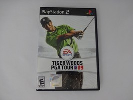 TIGER WOODS 2009 Playstation 2 PS2 Complete CIB w/ Box, Manual Good - $9.78