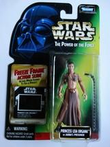 1997 Star Wars POTF Princess Leia Prisoner Freeze Frame Action Slide Figure - $20.00
