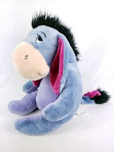 "Disney EEYORE Plush Doll 12"" Tear Off Tail Winnie The Pooh Cartoon Stuffed - $13.99"