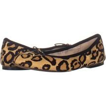 Sam Edelman Felicia Ballet Flats 226, Leopard, 5.5 US / 35.5 EU - $49.91