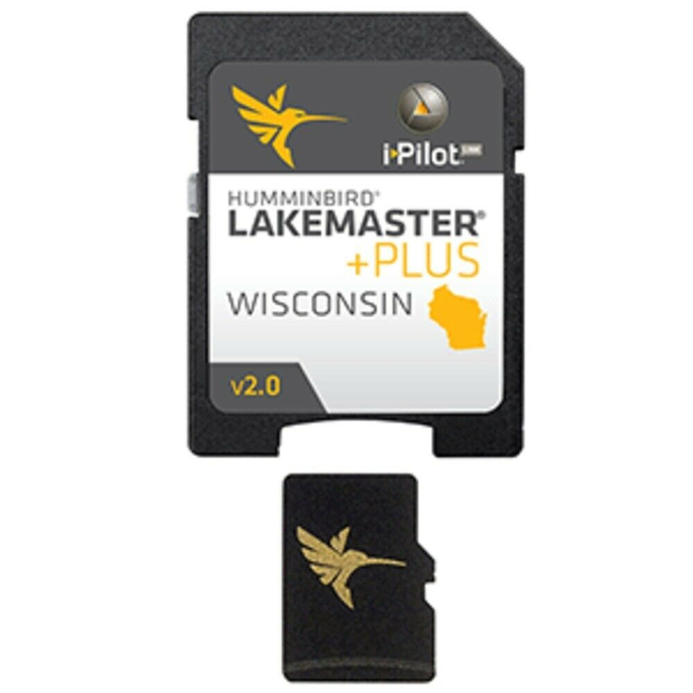 Primary image for New Humminbird LakeMaster Plus - Wisconsin - Version 2
