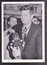 JOHN F. KENNEDY VINTAGE TRADING CARD 1964 ROSAN PRINTING #63 GIFTS FOR T... - $2.98