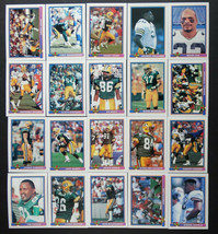 1991 Bowman Green Bay Packers Team Set of 20 Football Cards - $6.00