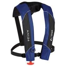 Onyx A/M-24 Automatic/Manual Inflatable PFD Life Jacket - Blue - $138.90