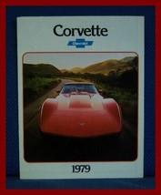 1979 Chevrolet CORVETTE Only Color Sales Brochure - Original New Old Stock - $10.00