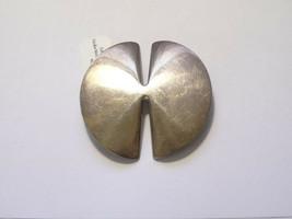 Georg Jensen Mid-Century Sterling Brooch Pin #337B Nanna Ditzal Design - $182.16