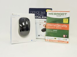 Microsoft Office 365 Personal Internet Security Wireless Mouse - $37.99
