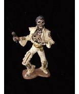 Elvis Skeleton Statue Dead Elvis White Jumpsuit Home Décor - $35.00