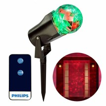 Philips Shimmering Pick-a-Color Remote Christmas LED Motion Projector NEW image 2