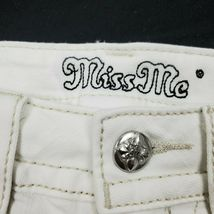 Miss Me Women's Signature Fringe Shorts JP7293H White 25 26 $89.50 Embroidered image 4