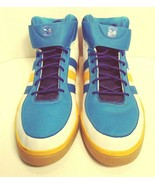 Adidas Mens Size 18 New Orleans Hornets Basketball Shoes - $100.00