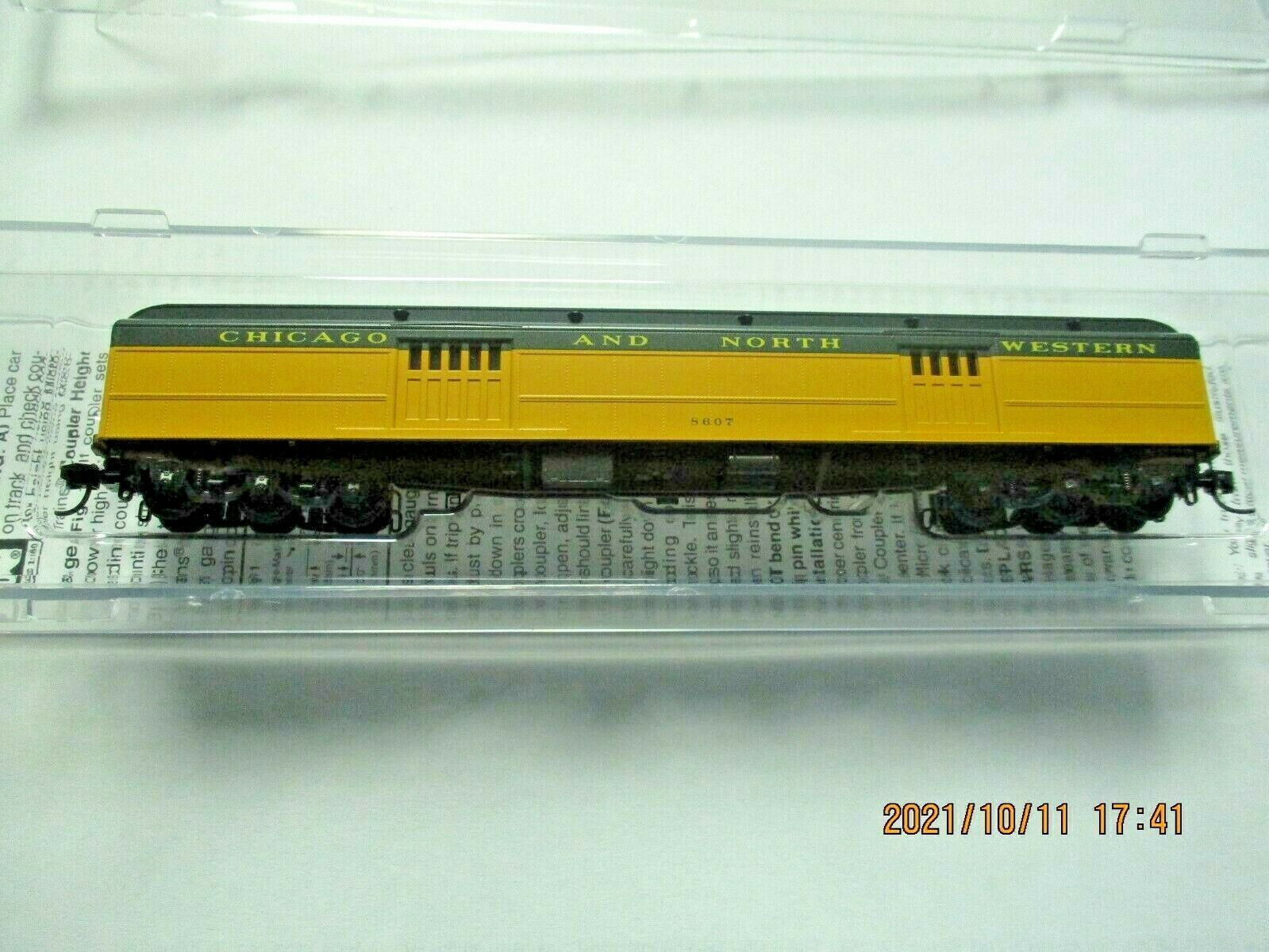 Micro-Trains # 14700430 Chicago & North Western 70' Heavyweight Baggage N-Scale