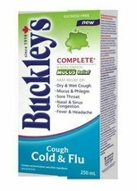 3 PACK Buckley's Complete MUCUS RELIEF COUGH Syrup Extra Strength Large ... - $59.15