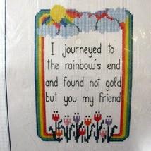 Bucilla Counted Cross Stitch Sampler Rainbows End Designed by Vanessa-Ann - $18.99