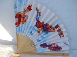 Asian Chinese Folding Hand Held Fans with Monkeys #Fan184 - $7.99