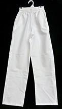 Meridy's White Elastic Waist XXS Uniform Student Nurse Scrub Pants Botto... - $19.57