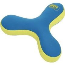 Pet Buddies Pooch Plushys 3 Finger Zinger Soft Dog Toy Floats Blue PB1903 - $9.88