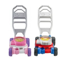 Fisher Price Bubble Mower Play Lawn Mower Children Garden Toy Pink /Blue... - $24.99