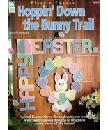 Hoppin' Down the Bunny Trail in Plastic Canvas Happy Easter, Wreath, Tis... - $6.95