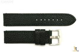 24mm Negro con Textura Reloj de Pulsera Cuero Banda / Puntadas para Luminox - $41.74