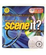Scene It Deluxe Movie Edition The DVD Game Metal Tin Box Fun Family Game - $26.17