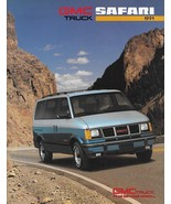 1991 GMC Truck SAFARI sales brochure catalog 91 US SLT SLE SLX - $6.00