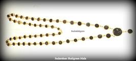 Sudarshan Salagram Rosary in Panchdhatu - 55 pc - Gandaki River Nepal - $380.00