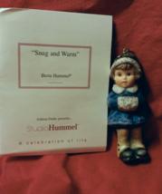 """Hummel """"Snug and Warm""""Christmas Ornament 1999 - $8.00"""